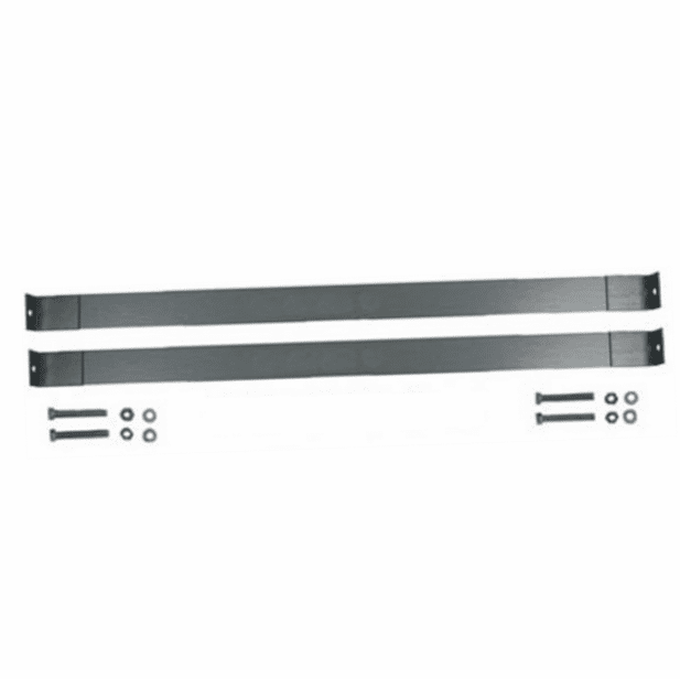 MTS [ GMGTS-31 ] Plastic Gas Tank Straps for 1973-1991 Chevy, GMC Suburban, K5 Blazer, 31 Gallon Gas Tank with bolts