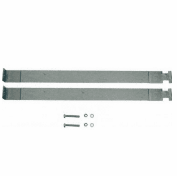 MTS [ YJGTS-1 ] Gas Tank Straps for Plastic Tank, 1987-1995 Jeep Wrangler YJ with 20 Gallon Plastic Tank