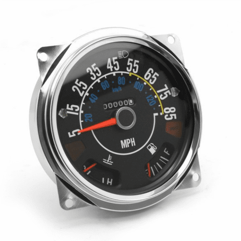 OMIX [ 5761110 ] Speedometer Cluster with Gauges 5-85 mph, fits 1980-86 Jeep CJ Models