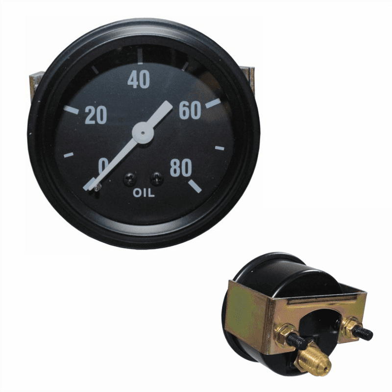 OMIX [ 640764 ] Oil pressure gauge for 1945-49 Jeep CJ-2A