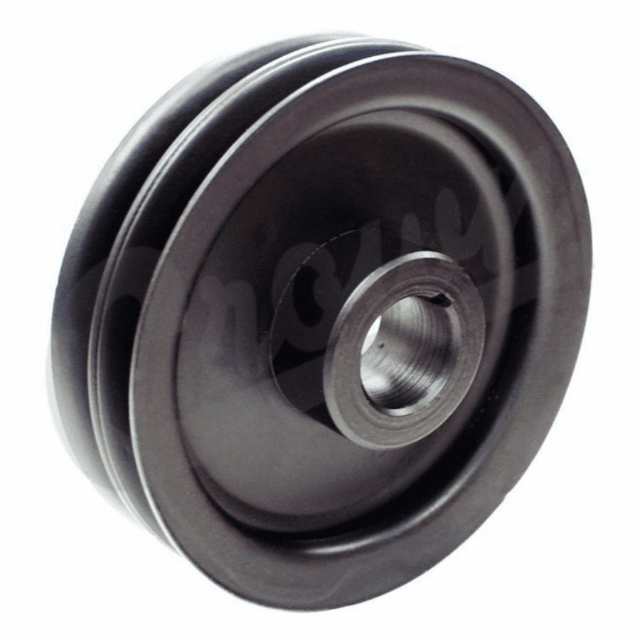 OMIX [ 646698 ] Pulley, crankshaft, double groove, 1945-53 Willys Jeep CJ-2A, CJ-3A