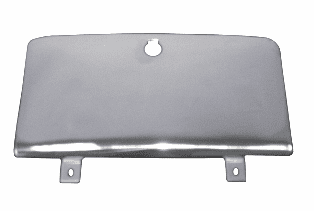Replacement glove box doors, stainless steel, fits 1972-86 Jeep CJ �����