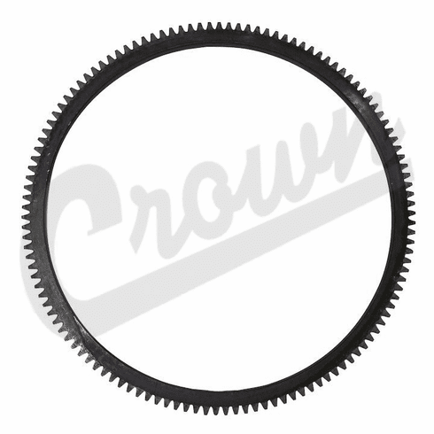Crown [ 641955 ] Ring gear, 124 tooth, fits 1949-53 CJ-3A with 4 cyl. engine