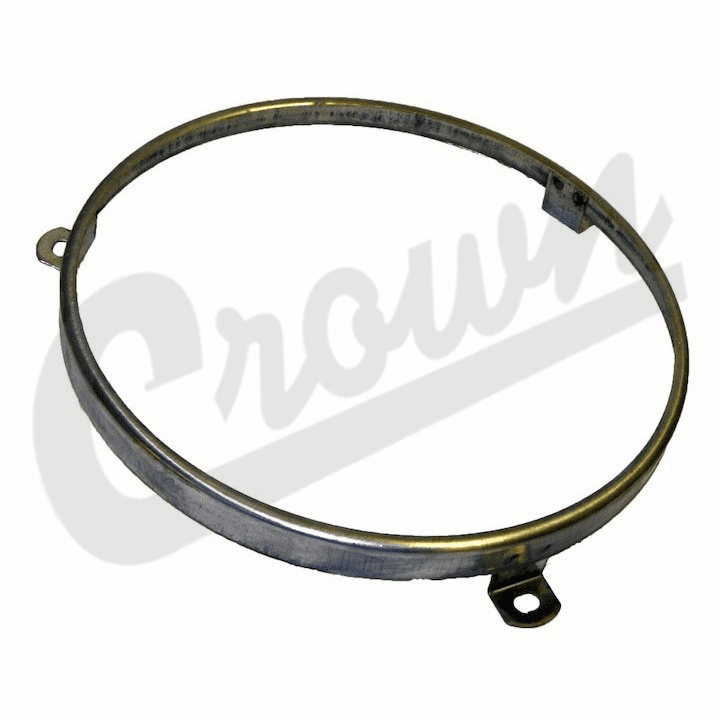Crown [ J8128749 ] Sealed beam retaining ring, fits left or right side, fits 1949-1986 Jeep Models