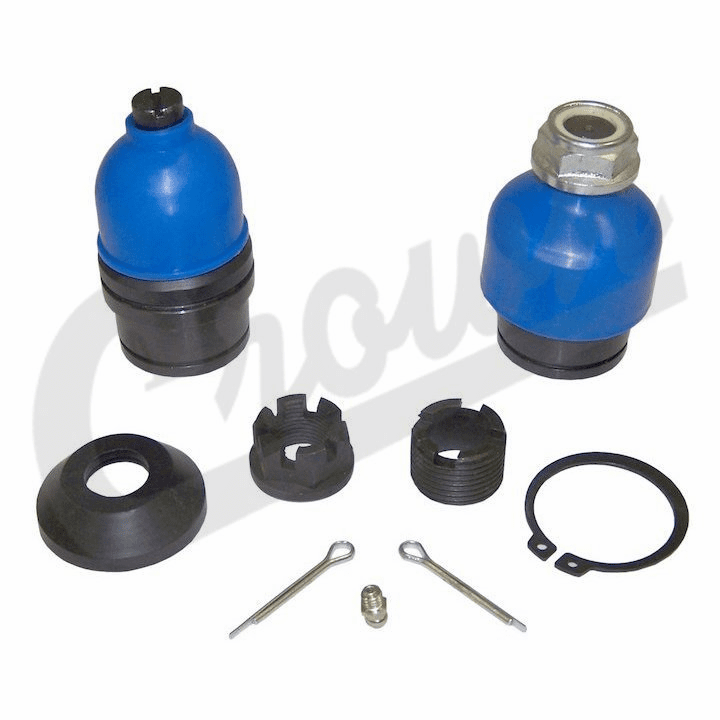 Upper & Lower Ball Joint Kit, fits 1972-86 Jeep CJ with Dana 30 Front Axle
