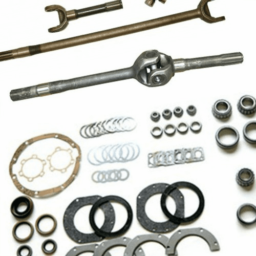 Willys CJ3B Front Axle Parts