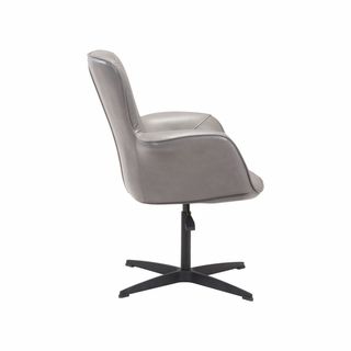 Peachy Alain Arm Chair In Grey Modern In Designs Pabps2019 Chair Design Images Pabps2019Com