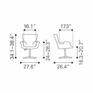 Groovy Alain Arm Chair In Grey Modern In Designs Pabps2019 Chair Design Images Pabps2019Com