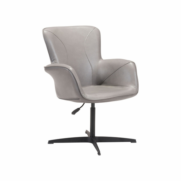 Alain Arm Chair in Grey