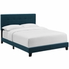Amira Full Upholstered Fabric Bed
