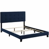 Amira Full Upholstered Velvet Bed