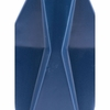 Angle Medium Vase in Matt Blue