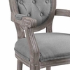 Arise Dining Armchair Upholstered Fabric Set of 4