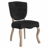 Array Vintage French Velvet Dining Side Chair