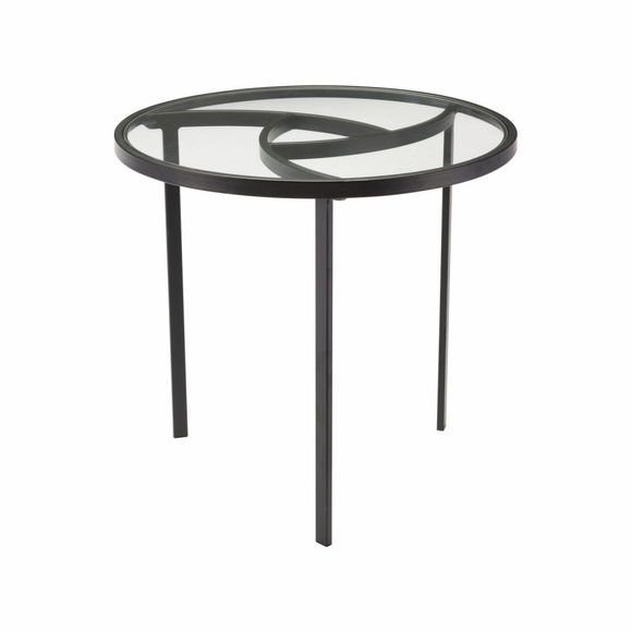 Asterisk End Table in Black