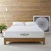 Aveline 10inch California King Gel Memory Foam Mattress in White