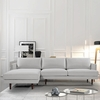 Baley Left Sectional in Harbor Grey