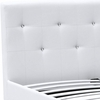 Barbara Bed Queen Size in White