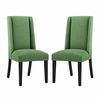 Baron Dining Chair Fabric Set of 2