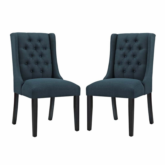 Baronet Dining Chair Fabric Set of 2