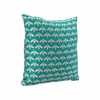 Bees Verdigrin Pillow in Green