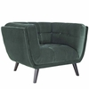 Bestow 2 Piece Velvet Loveseat and Armchair Set