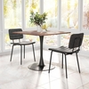 Boston Dining Chair Vintage Black Set of 2