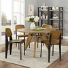 Cabin Dining Side Chair Set of 4 in Walnut
