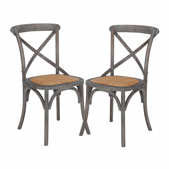 Cafton Crossback Chair ( Set of 2)