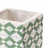 Cement Tribal Planter in Green