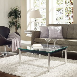 Charlie Coffee Table Clear Gl Modern In Designs