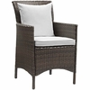 Conduit Outdoor Patio Wicker Rattan Dining Armchair MID-2801