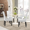 Confer Dining Side Chair Vinyl Set of 4