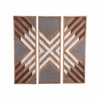 Corners Wall Decor Set of 3 in Brown