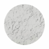 """Daisy 48"""" Artificial Marble Dining Table in White"""