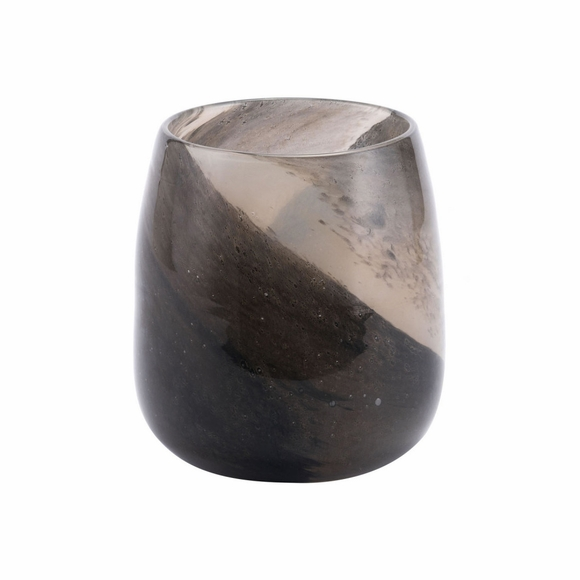 Dawn Small Vase in Translucent Brown
