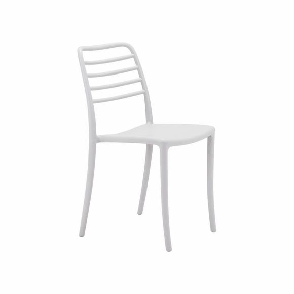 Donzo Dining Chair Set of 2 in Gray