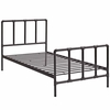 Dower Twin Bed in Brown