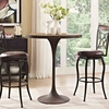 Drive Wood Bar Table in Brown MID-2652
