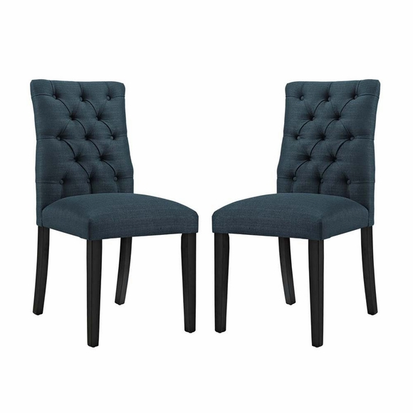 Duchess Dining Chair Fabric Set of 2