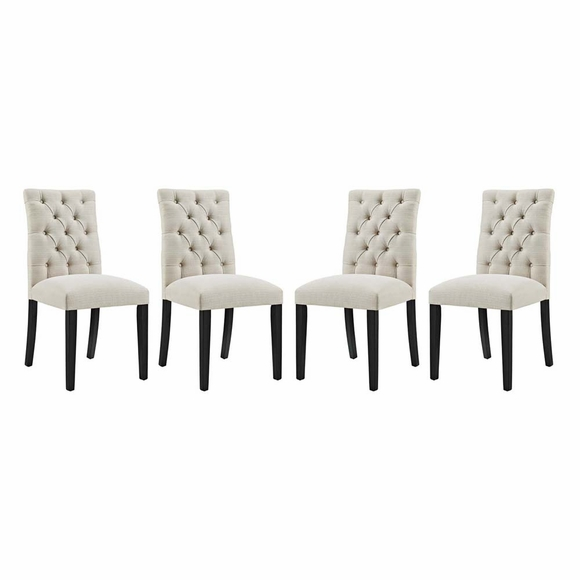 Duchess Dining Chair Fabric Set of 4