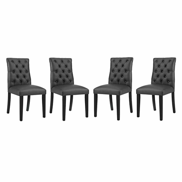 Duchess Dining Chair Vinyl Set of 4