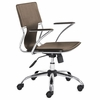 Elegant Leatherette Office Chair