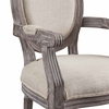 Emanate Dining Armchair Upholstered Fabric Set of 4