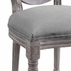 Emanate Dining Side Chair Upholstered Fabric Set of 4