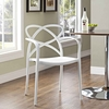 Enact Dining Armchair in White