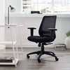 Forge Mesh Office Chair in Black