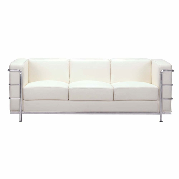 Fortress Sofa in White