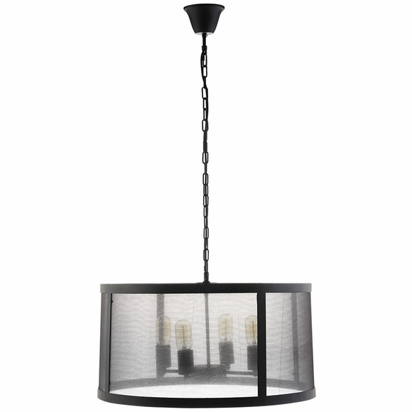 Frost Chandelier in Black