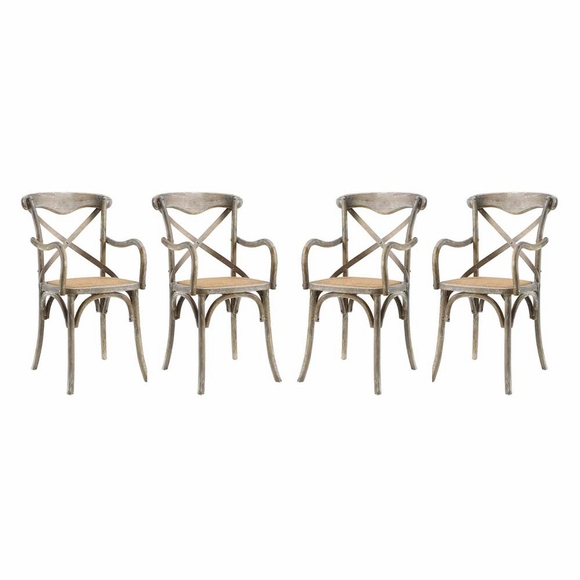 Gear Dining Armchair Set of 4